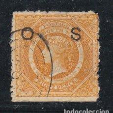 Sellos: NUEVA GALES DEL SUR COLONIA BRITÁNICA SERVICIO .7 USADA,. Lote 257487500