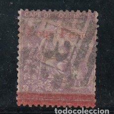 Sellos: CABO DE BUENA ESPERANZA COLONIA BRITÁNICA 20 USADA,. Lote 259770625