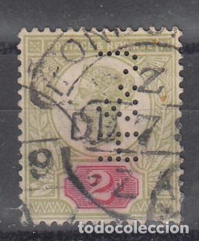GRAN BRETAÑA. YVERT 94. PERFORADO H & J (Sellos - Extranjero - Europa - Gran Bretaña)
