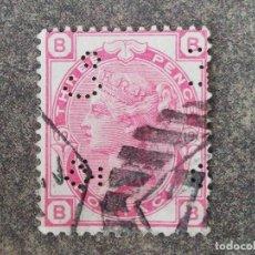 Sellos: ANTIGUO SELLO RARO ,3P THREE PENCE REINA VICTORIA 1873. Lote 267340999
