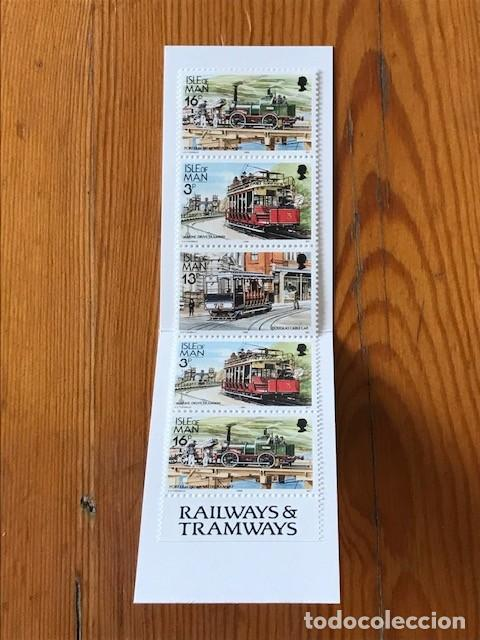 Sellos: Isle of Man, 1988, carne Railways & Tramways 50p, C353, nuevos - Foto 4 - 269148688
