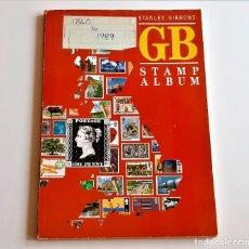 Sellos: 1840/1989 GRAN BRETAÑA - ALBUM DE SELLOS STAMP - STANLEY GIBBONS. Lote 269280183
