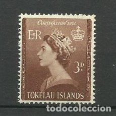 Sellos: TOKELAU ISLANDS- COLONIAS BRITANICAS 1953 *. Lote 277277708
