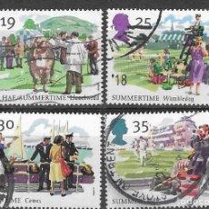 Sellos: SELLOS USADOS DE GRAN BRETAÑA 1994, YT 1774/ 77, FOTO ORIGINAL. Lote 277278468