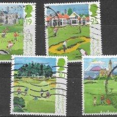 Sellos: SELLOS USADOS DE GRAN BRETAÑA 1994, YT 1767/ 69 + 1771, FOTO ORIGINAL. Lote 277278818