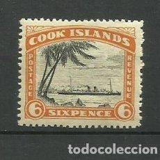 Sellos: COOK ISLANDS- COLONIAS BRITANICAS 1933/36 **. Lote 277279503