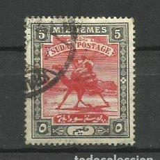 Sellos: SUDAN -- COLONIAS BRITANICAS 1898 USADO. Lote 277466643