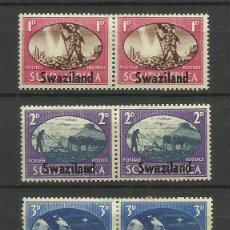 Sellos: SWAZILANDIA -- COLONIAS BRITANICAS 1945 SERIE. Lote 277467673