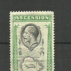 Sellos: ASCENSION-- COLONIAS BRITANICAS 1934 *. Lote 277470378