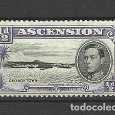 Sellos: ASCENSION-- COLONIAS BRITANICAS 1938 *. Lote 277470523