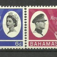 Sellos: BAHAMAS- COLONIAS BRITANICAS 1966 *. Lote 277470713