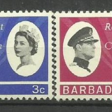 Sellos: BARBADOS- COLONIAS BRITANICAS 1966 *. Lote 277501698