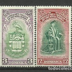 Sellos: DOMINICA- COLONIAS BRITANICAS 1951 *. Lote 277502823