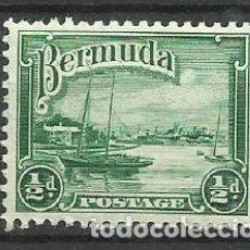 Sellos: BERMUDA- COLONIAS BRITANICAS 1936 * *. Lote 277512413