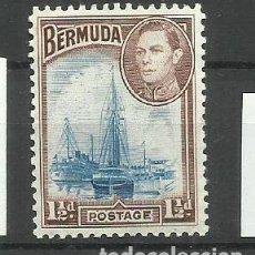 Sellos: BERMUDA- COLONIAS BRITANICAS 1938 * *. Lote 277512578