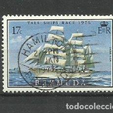 Sellos: BERMUDA- COLONIAS BRITANICAS 1976 USADO. Lote 277513013