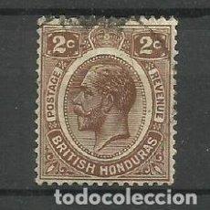 Sellos: HONDURAS/BELICE-- COLONIAS BRITANICAS 1922/33 USADO. Lote 277513658