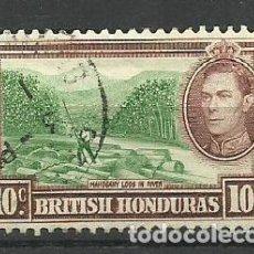 Sellos: BRITISH HONDURAS-- COLONIAS BRITANICAS 1938 /1947 USADO. Lote 277514058