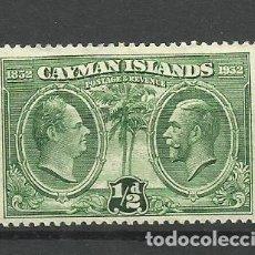 Timbres: CAYMAN ISLANDS-- COLONIAS BRITANICAS 1932 *. Lote 277570573