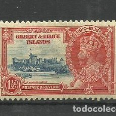Timbres: GILBER5T & ELICE ISLANDS-- COLONIAS BRITANICAS 1935 *. Lote 277571038