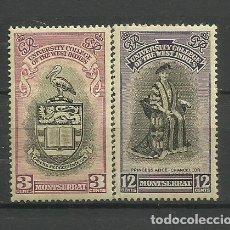 Timbres: MONTSERRAT--COLONIAS BRITANICAS 1951 * SERIE. Lote 277599613