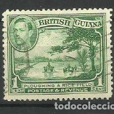 Timbres: BRITISH GUIANA- -COLONIAS BRITANICAS 1938-52 USADO. Lote 277749838