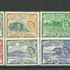 Timbres: S.CHRISTOPHER NEVIS, ANGUILLA-- -COLONIAS BRITANICAS 1954/57 7 VALORES**- 1VALOR*. Lote 277751078