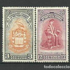 Sellos: LEEWARD ISLANDS- -COLONIAS BRITANICAS 1951 *. Lote 278399573