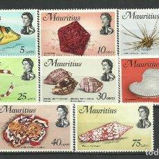 Timbres: MAURICIO -COLONIAS BRITANICAS 1969 * 8 VALORES. Lote 278401823