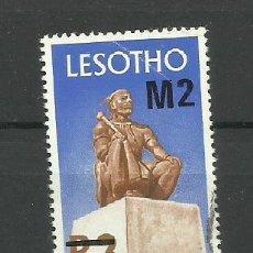 Sellos: LESOTHO AFRICA -COLONIAS BRITANICAS 1980 USADO ( TIENE ARRUGA). Lote 278420788
