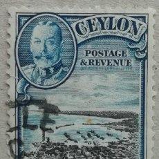 Sellos: 1935. CEYLÁN. 240. PUERTO DE COLOMBO. USADO.. Lote 278794823