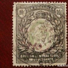Sellos: COLONIAS GRAN BRETAÑA - AFRICA CENTRAL BRITANICA 1903 - 10 SHILLINGS -.. Lote 278887328