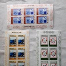 Sellos: GIBRALTAR - 364/66 - 1977 AMPHILEX EUROPA 3 HB**. Lote 285608608