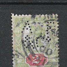 Sellos: GRAN BRETAÑA 1887 SCOTT 113 USADO 13$ - 19/1. Lote 287895163