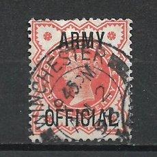 Sellos: GRAN BRETAÑA 1896 USADO - 19/2. Lote 287899978