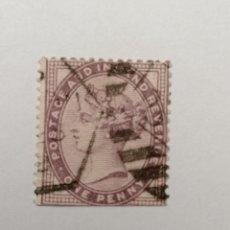Sellos: SELLO INGLATERRA ,1881,1 PENNY, 1 UNID., USADO.. Lote 288208468