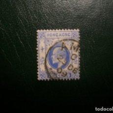 Sellos: /27.09/-HONG KONG / COLONIA BRITANICA-1904-10 C. Y&T 84 EN USADO/º/. Lote 289775088