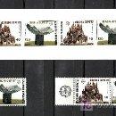 Sellos: GRECIA 1632/3(2), 1634C CARNET SIN CHARNELA, TEMA EUROPA, ARQUITECTURA MODERNA, . Lote 20840511