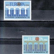 Sellos: GRECIA 1533/4 SIN CHARNELA, TEMA EUROPA, 25º ANIVERSARIO CONFERENCIA EUROPEA, . Lote 20841014