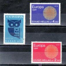 Sellos: GRECIA 1020/2 SIN CHARNELA, TEMA EUROPA, . Lote 20881636