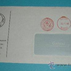 Sellos: SOBRE CON FRANQUEO MECÁNICO UNIVERSIDAD DE TESALONICA. 1990. Lote 24163415