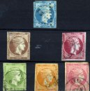 Sellos: GRECIA. YVERT 4,10A,23,48/9(*) USED. Lote 47101450