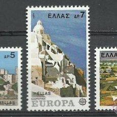 Sellos: GRECIA - 1977 - MICHEL 1263/1265 // SCOTT 1205/1207** MNH. Lote 111771208