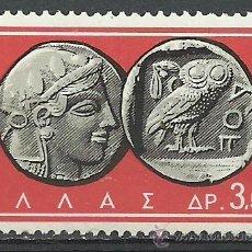 Sellos: GRECIA - 1963 - MICHEL 812 // SCOTT 755** MNH. Lote 53717687