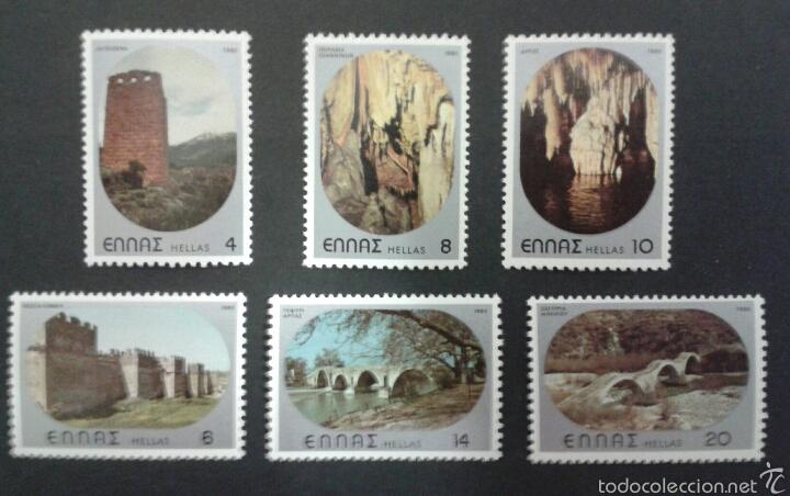 SELLOS DE GRECIA. YVERT 1381/6. SERIE COMPLETA NUEVA SIN CHARNELA. (Sellos - Extranjero - Europa - Grecia)