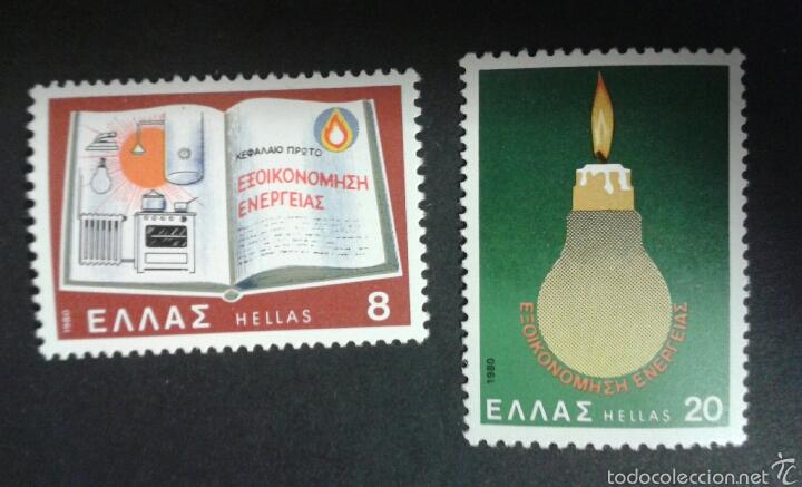 SELLOS DE GRECIA. YVERT 1387/8. SERIE COMPLETA NUEVA SIN CHARNELA. (Sellos - Extranjero - Europa - Grecia)