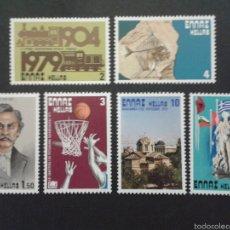 Sellos: SELLOS DE GRECIA. YVERT 1332/7. SERIE COMPLETA NUEVA SIN CHARNELA.. Lote 60160527