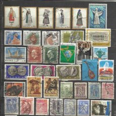 Sellos: Q578-LOTE SELLOS GRECIA SIN TASAR,SIN REPETIDOS,ESCASOS. -GREECE STAMPS LOT WITHOUT PRICING WITHOUT . Lote 64868627