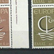 Sellos - Grecia,1966,Europa,MNH** - 69997149