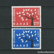 Sellos: GRECIA,1962,EUROPA,MNH**. Lote 69997153